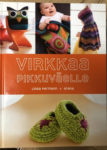 Linda Permann: Virkkaa Pikkuväelle-kirja