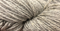 Finnsheep Aran weight organic sockyarn Grey