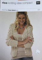 Only 1 left! Rico knitting idea compact Cardigan