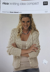 Rico knitting idea compact Cardigan