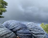 1-ply Finnsheep woolen yarn Thunder