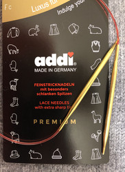 Addi nickelfree lace knitting needle