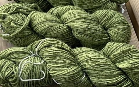 Eri silkkilanka Vihreä