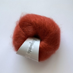 Lang Mohair Luxe Oranssi