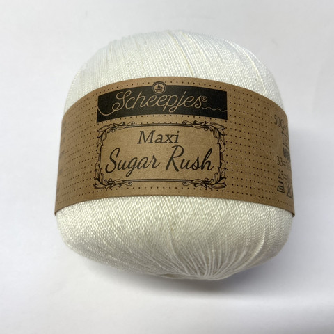 Scheepjes Maxi Sugar Bridal White