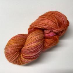 Sipilän paksu villalanka Oranssi-pinkki