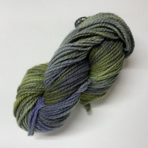 Sipilän paksu villalanka Vihreä-sininen