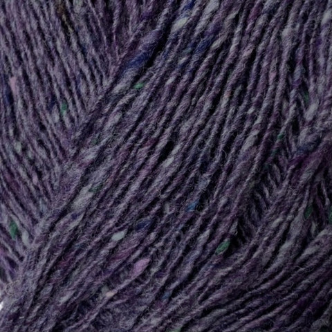 Lang Donegal Tweed Sinivioletti
