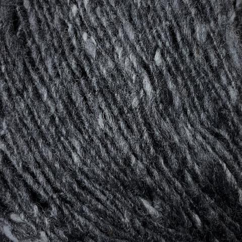 Lang Donegal Tweed Tummanharmaa