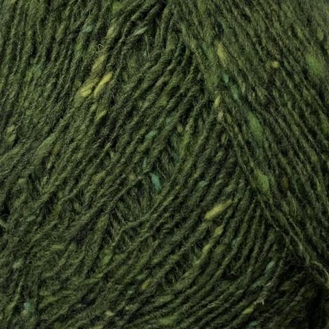 Lang Donegal Tweed Havunvihreä