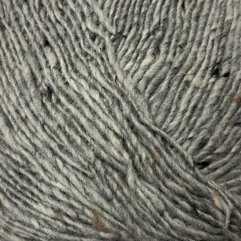 Lang Donegal Tweed Harmaa