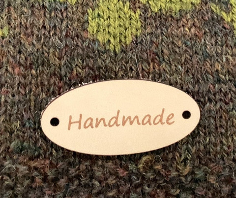 Nahkamerkki Handmade