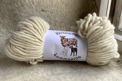 Bulky finnish woolyarn White