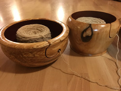 Finnish handmade Yarn bowl