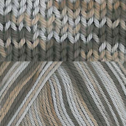 Pirkka Cottonyarn Variegated Brown