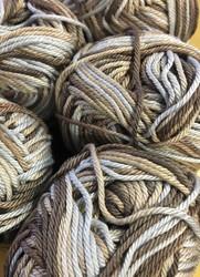 Pirkka Cottonyarn Variegated Brown