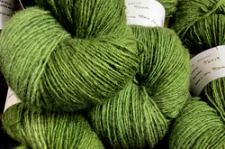 1-ply Finnsheep woolen yarn Birch