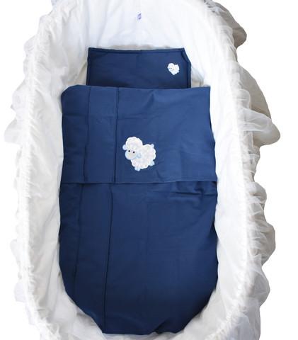 Vauvan pussilakana ja tyyny Lammas