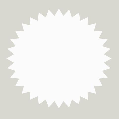 Tyynyliinat - Lainekreppi valkoinen