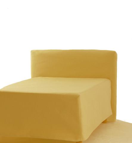 Sängynpäätyhuppu - Napakka keltainen