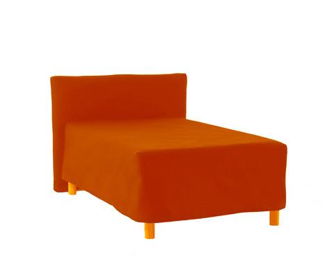 Sängynpäätyhuppu - Napakka oranssi