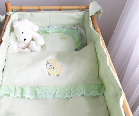 Vauvan peitto ja tyyny - Romanssi
