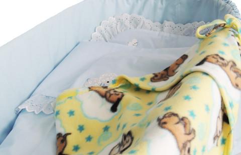 Vauvan lakana - KAMPAPUUVILLA - ERIVÄREISSÄ