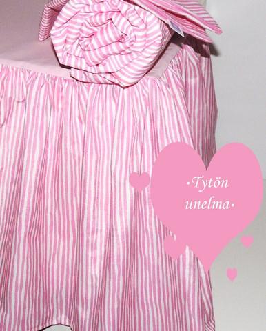 Helmalakana/rypytetty pinkkiraita