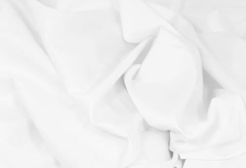 Pyöreän patjan kuminauhalakana /puuvillasatiini valkoinen