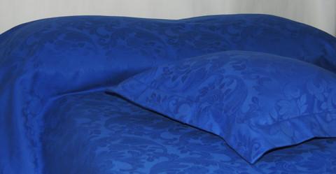 Päiväpeite Huppu Jacquard sininen