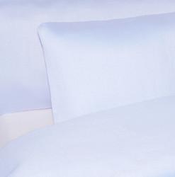 Pussilakana - Satiinipuuvilla vaalea sininen
