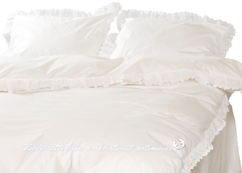 Pussilakana - Romanssi valkoinen