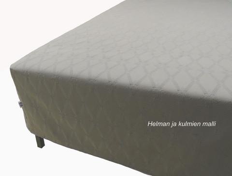 Helmalakana/Huppu jacquard harmaa 2.