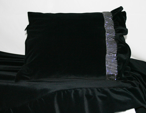 Tyynynpäällinen - Gloria sametti /rajaton kokovalikoima