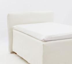 Petauspussilakana - pellava valkoinen