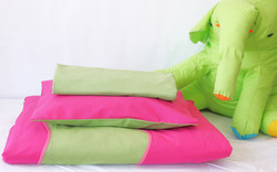 Vauvan peitto ja tyyny - Raita