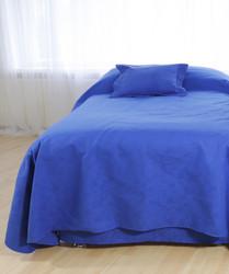 Päiväpeite - Jacquard sininen