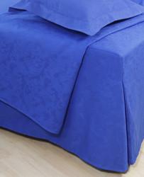 Helmalakana/laskos jacquard sininen