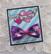 Rusettipinni Pionit, violetti