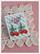 Kirsikka-korvikset, kirkkaanpunainen