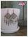 Heini-helmikorvakorut, antiikkihopea/vaaleanharmaa