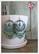 Maisa-helmikorvakorut, antiikkikulta/vedenvihreä