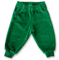 Pants Green, Velour