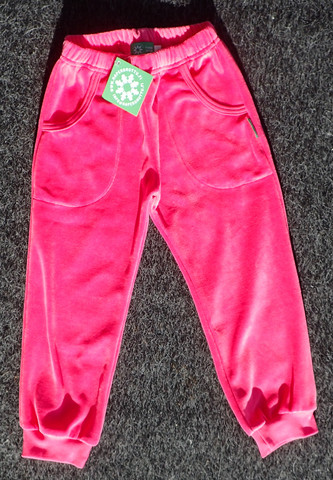 Pants Pink, Velour (dark)