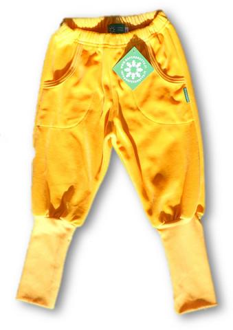 Pants Yellow, Long rib, Velour