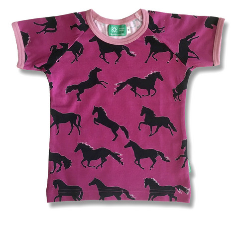 Horses, short sleeve shirt, jersey