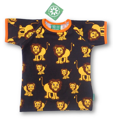 Lion, short sleeve shirt, jersey