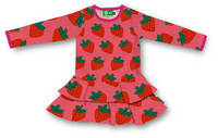 Strawberry, Frill dress, Jersey