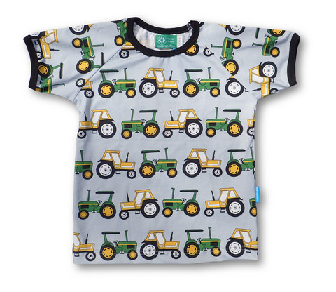 Two Tractors, short sleeve shirt, jersey