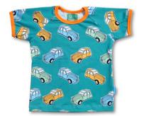 Retro car, Short sleeve shirt. Jersey, organic cotton